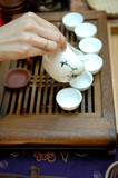 chinese tea preparation step 3 poster