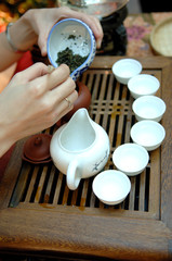 chinese tea preparation step 4