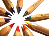 artist pencils poster