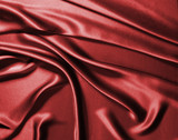 red silk poster