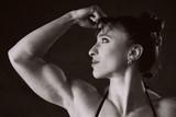 female bodybuilder poster