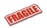 fragile sign poster