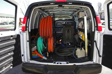 carpet cleaning van 4