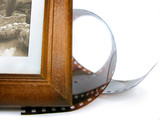 photo frame corner and photo tape poster