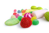 jelly sweets - candies colorfull poster