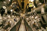 submarine engine room poster