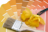 paint your house spring colors poster