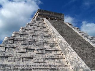 pyramid of maya