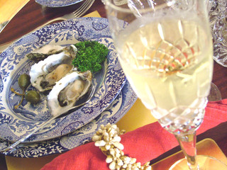 oysters for two