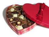 valentines chocolates poster