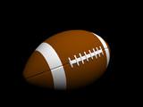3d football poster