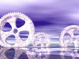 frozen gears poster