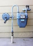 gas meter poster