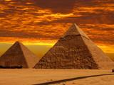 dramatic pyramids poster