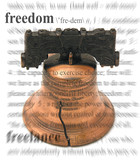 freedom bell poster