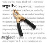 negative theme poster