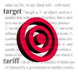 3d target poster