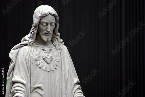 jesus black and white - 465458