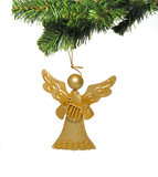 angel ornament poster