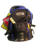 loaded backpack poster