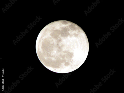 poster of full moon