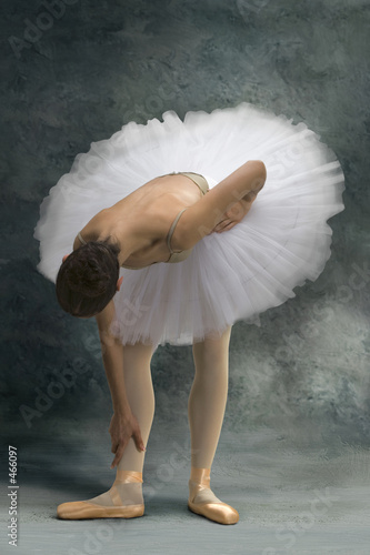 ballet ballerina in pain