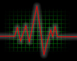 heart monitor poster