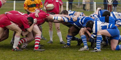 melee de rugby