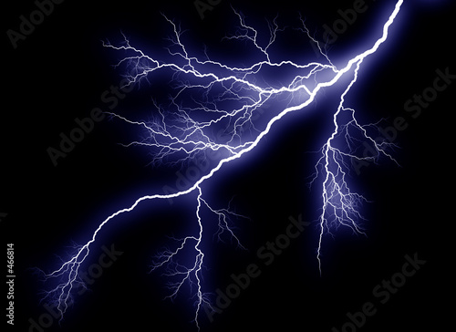 lightning strike - 466814