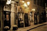 Fototapeta Pub nocą w Pradze