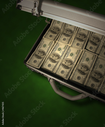 suitcase full of money poster