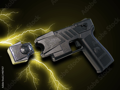 canvas print picture taser