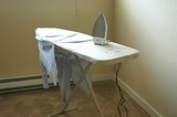 ironing board poster