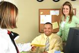 job interview application poster