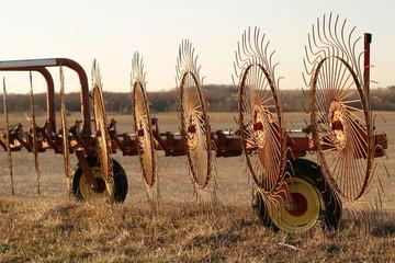 wheel rakes - front