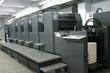 Leinwanddruck Bild - offset machine