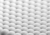 background of golf balls