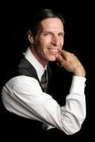 executive portrait - confident poster