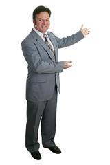 businessman or realtor complete 2
