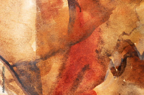 warm water-coloured background