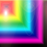 bright abstract background poster