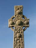 celtic cross of stone