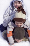 winter children poster