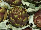 artichauts violets poster