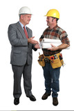 architect and contractor poster