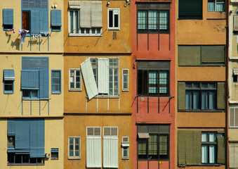 spanish riverside housing