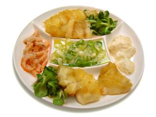 apetitoso plato combinado