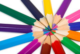 color wheel close up poster