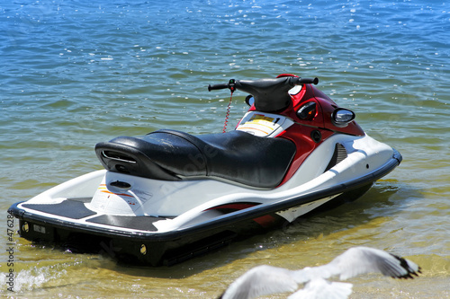rear of jetski