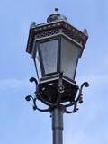 street lantern poster